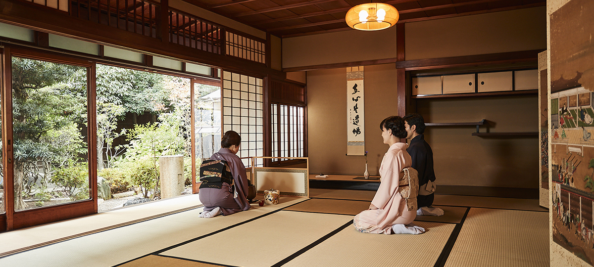 Authentic Tea Ceremony in Kyoto historic machiya