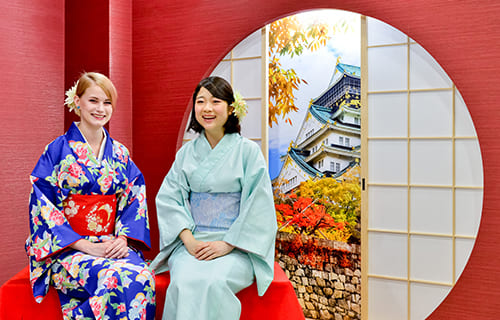 Kimono Photo Shooting in Osaka