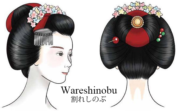 The Hairstyles of Geisha