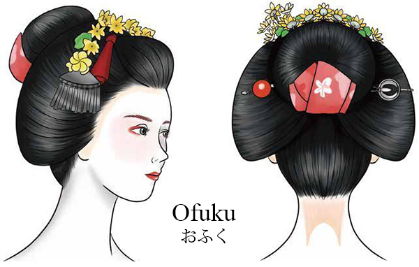The Hairstyles of Maiko