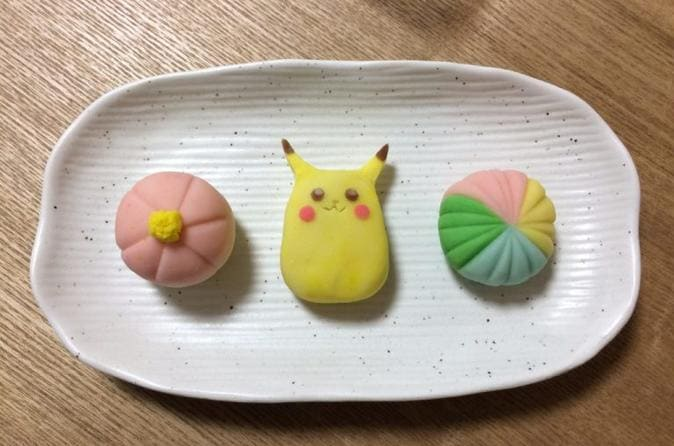 Wagashi Cooking in Osaka