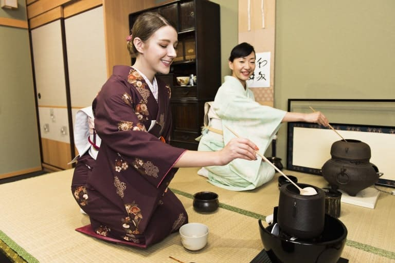 Tea ceremony in Osaka