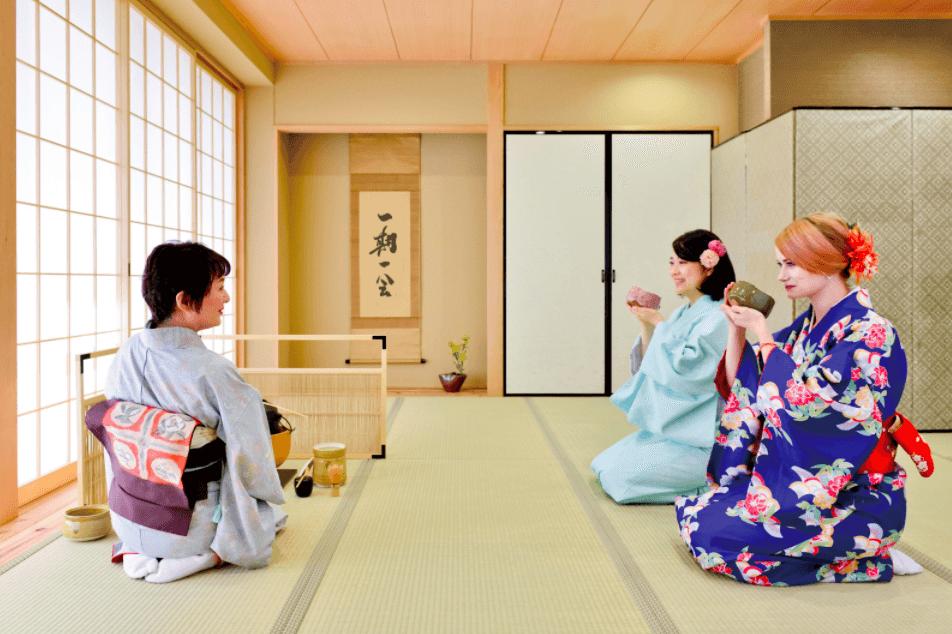tea ceremony osaka private group