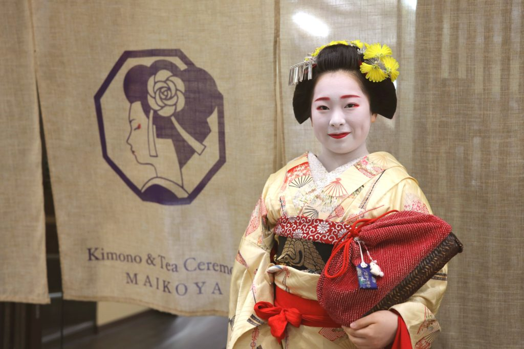 Eat Golden Ice Cream & Experience Geisha –  Osaka