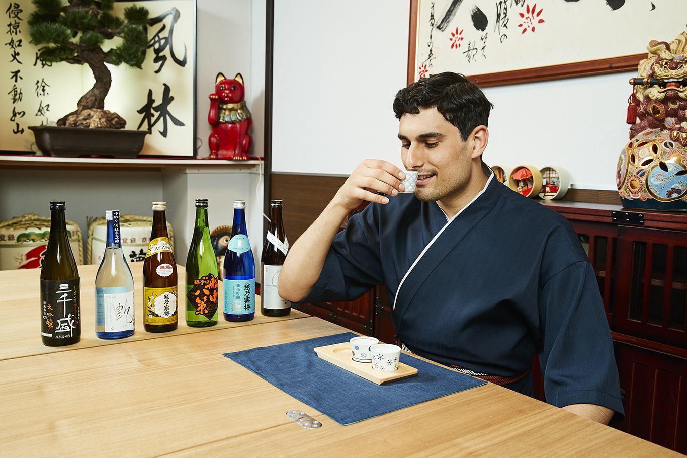 Sake Tasting in Osaka