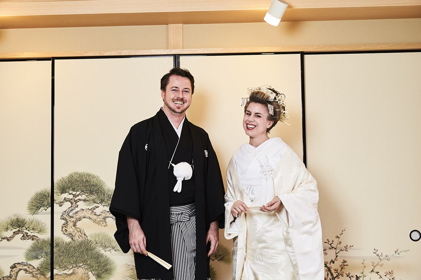 Honeymoon in Osaka Kimono and special Dinner