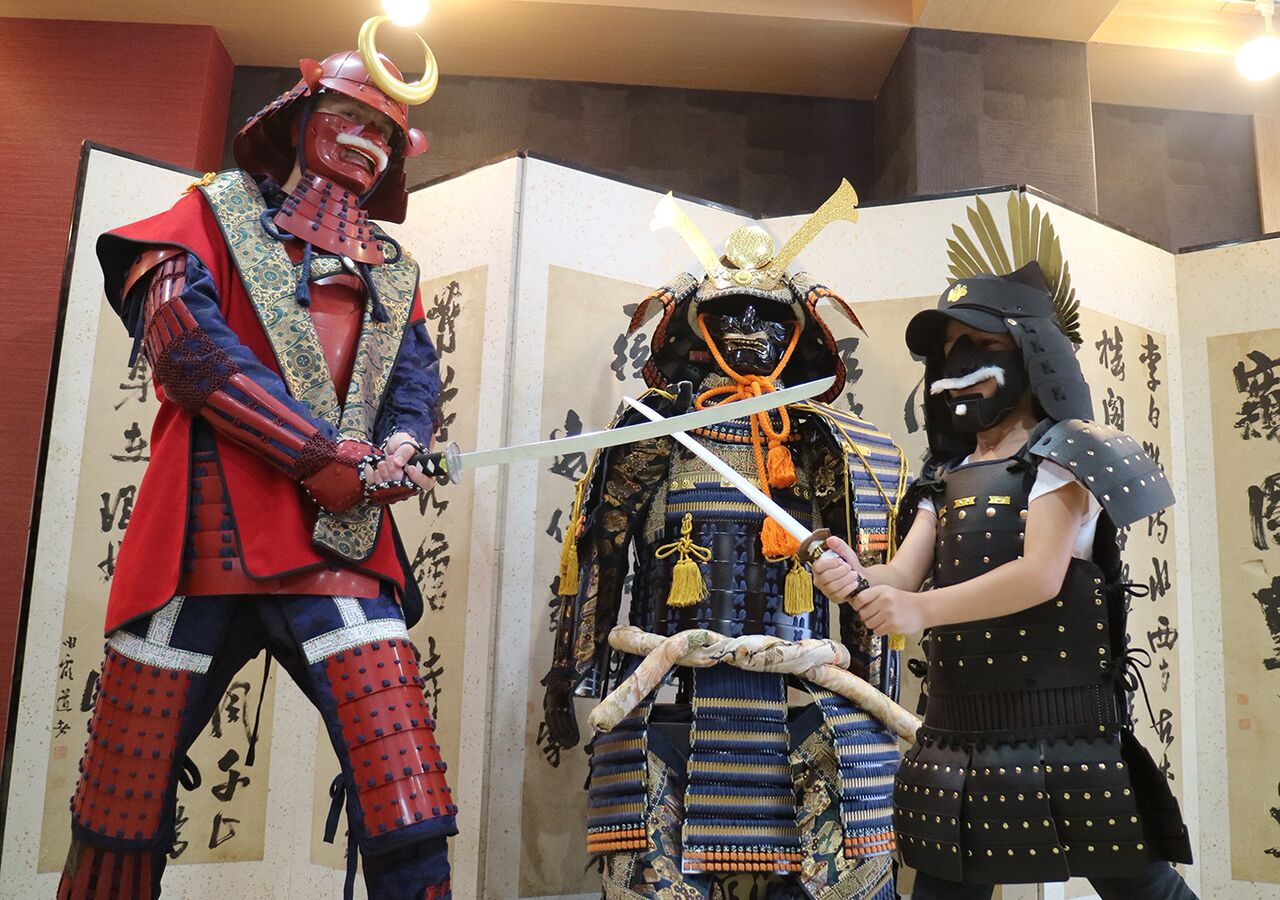 Samurai experience Osaka – Armor Trial Samurai and Ninja Museum for Kids and Families