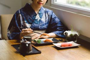 Үдийн хоол кимоно Осака