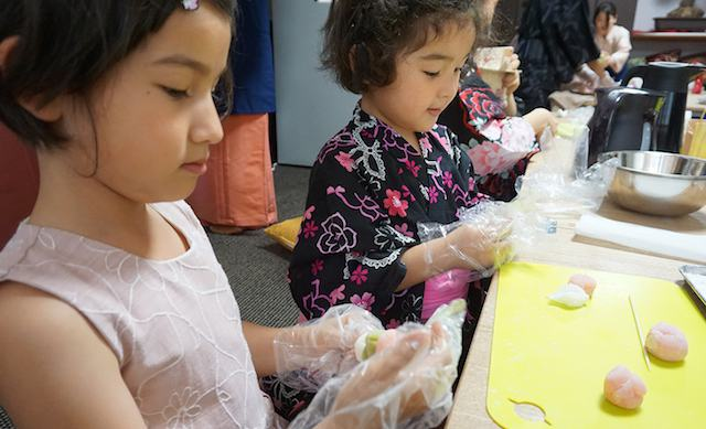 PRIVATE Cooking for kids in Osaka (Onigiri, takoyaki snack)