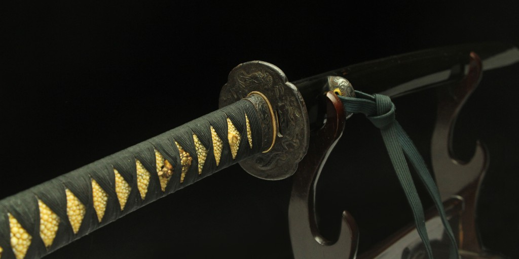 Real antique katana sword. Item no: 01-1070
