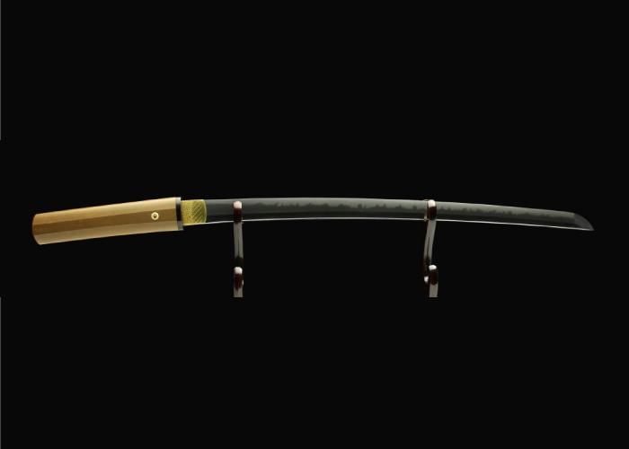 Real antique Wakizashi sword. Item no: 01-2039
