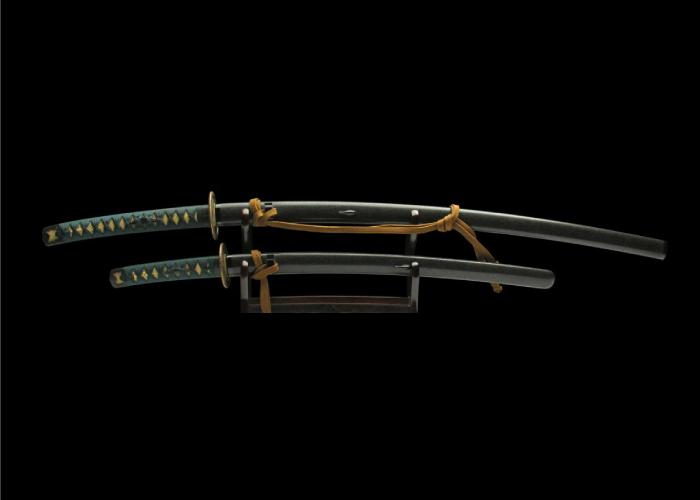 Real antique Wakizashi sword. Item no: 01-2051