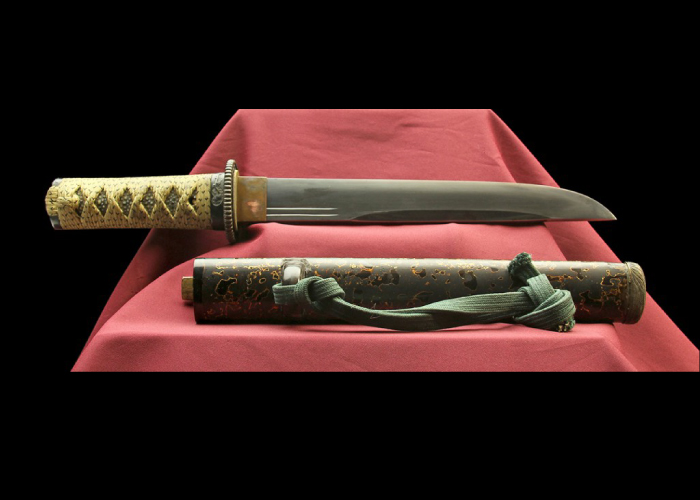 Real antique dagger. Samurai Ninja Kyoto Item no: 01-372