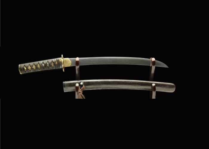 Real antique Wakizashi sword. Item no: 02-2145