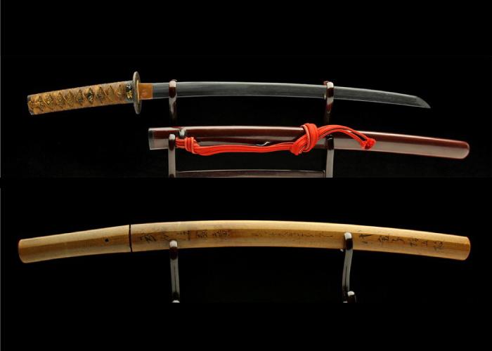 Real antique Wakizashi sword. Item no: 02-2153