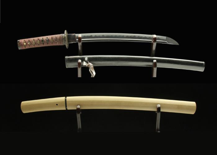 Real antique Wakizashi sword. Item no: 02-2154