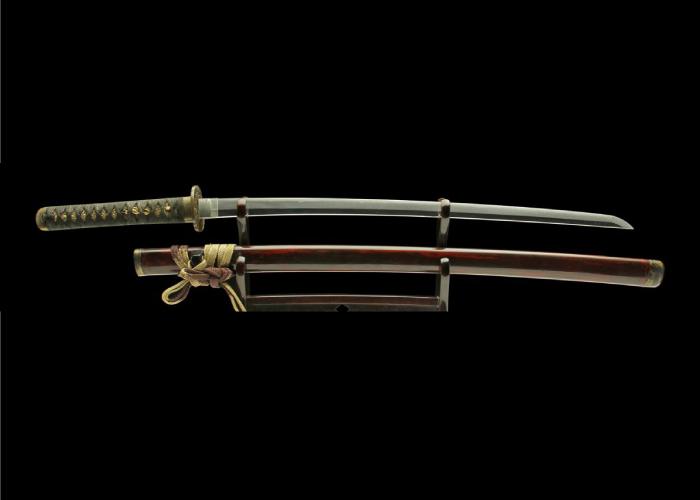 Real antique Wakizashi sword. Item no: 02-2156