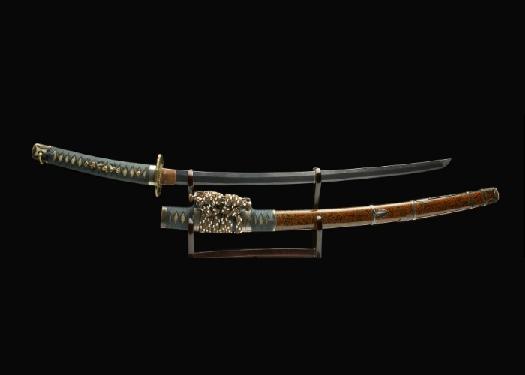 Real antique katana sword. Item no: 01-1087