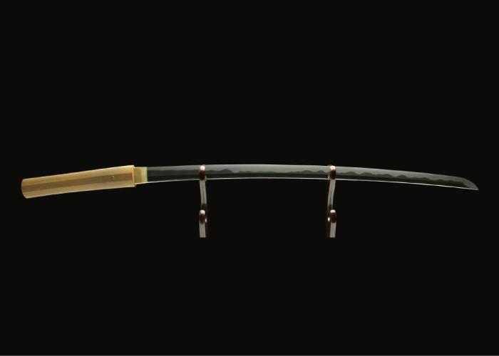 Real antique katana sword. Item no: 01-1096