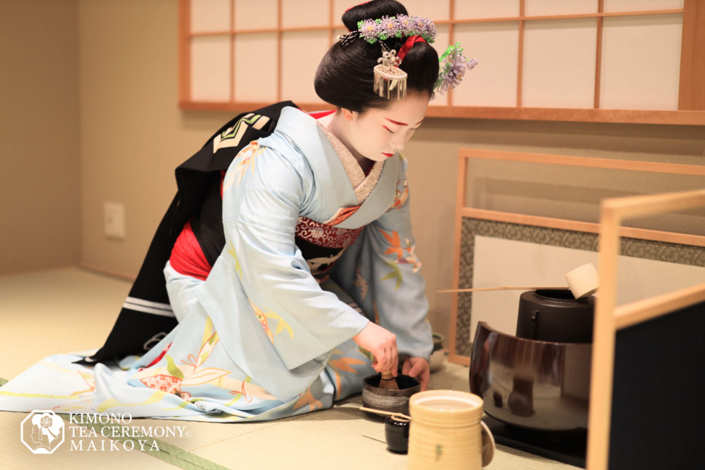 Geisha (Maiko) Tea Ceremony & Show in Kyoto (Includes Kimono Wearing)