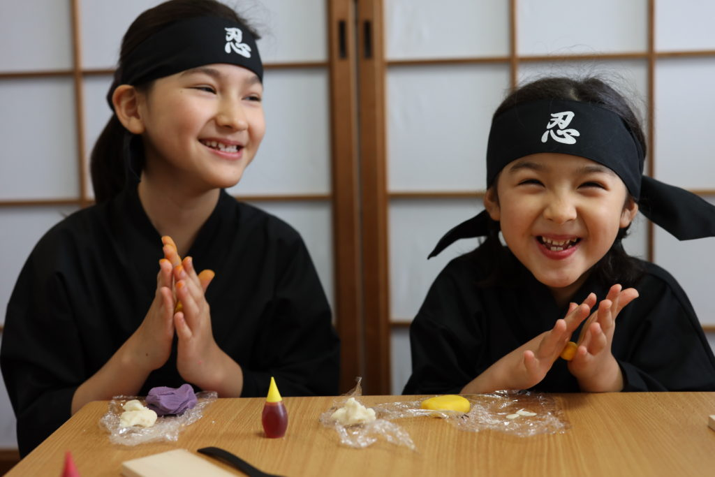 Ninja Cooking Class For Kids & Families in Kyoto with a Souvenir