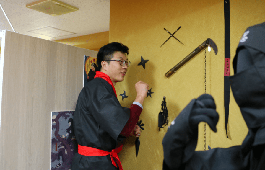 Team Building Japan Kyoto Option 4 Shuriken throw