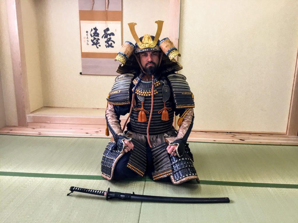 Wear a Samurai Armor at Samurai and Ninja Museum Kyoto