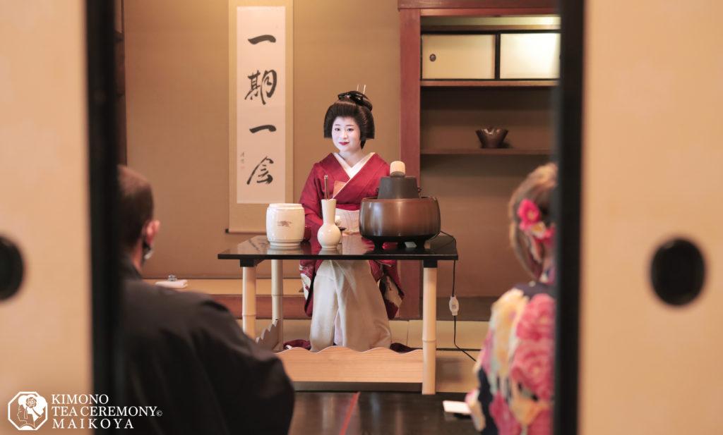 Geisha – Maiko Show & Tea Ceremony in Kyoto by Kimono Tea Ceremony Maikoya