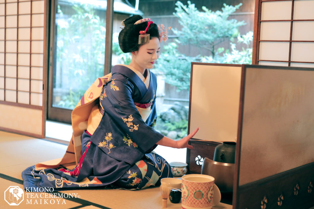 PRIVATE Geisha (Maiko) Tea Ceremony and Geisha Performance in Kyoto