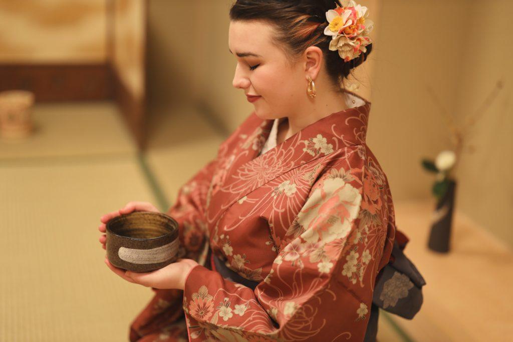 Tea ceremony kyoto kimono 3