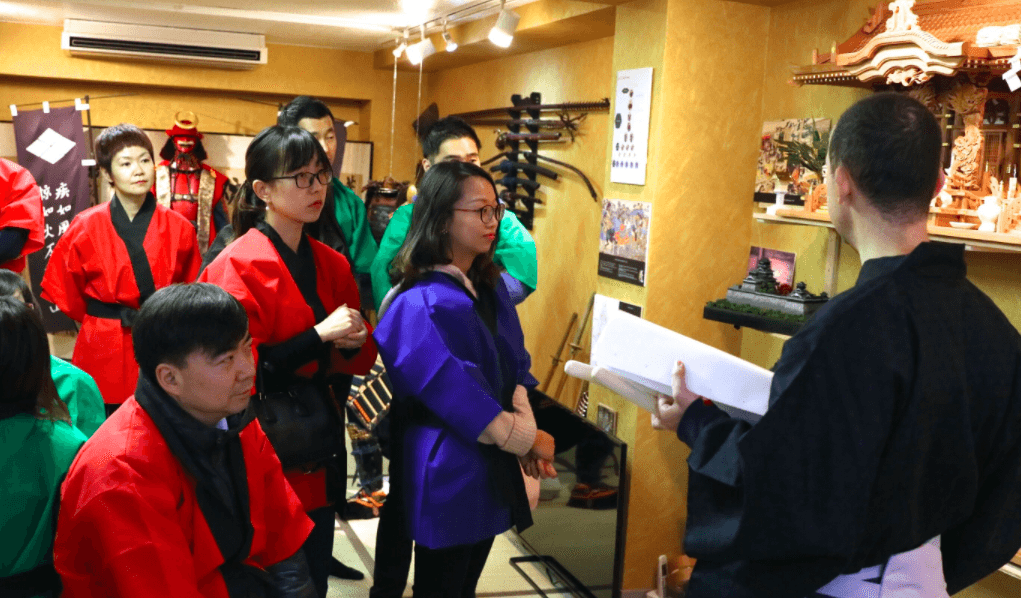 Team Building Japan Kyoto Option 3 Samurai treasure hunt