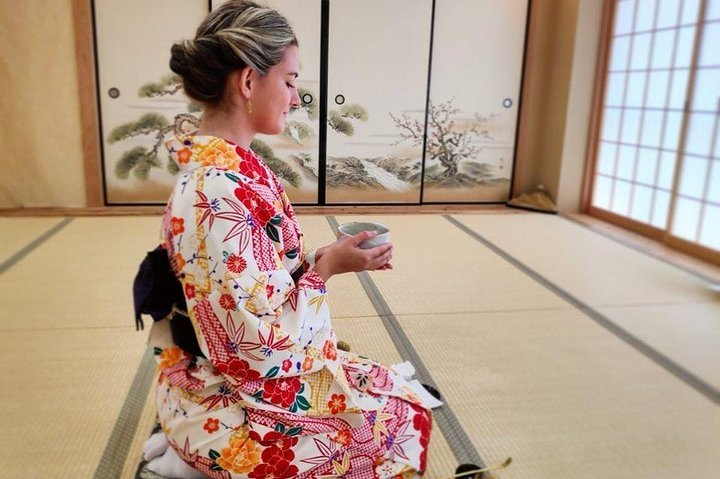 Virtual private tea ceremony via ZOOM