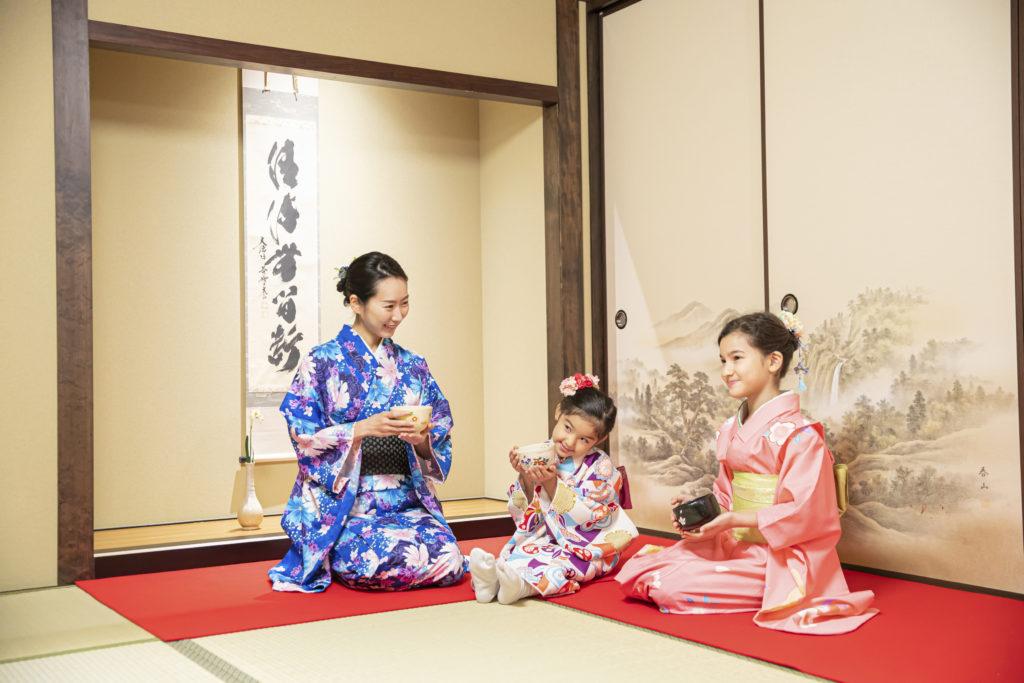 キッズ向け茶道+着物体験(東京)