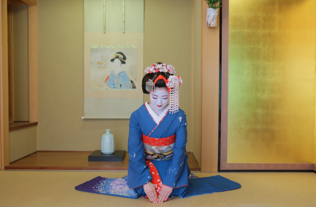 Maiko Makeover Maiko Henshin Places In Gion Tea Ceremony Japan Experiences Maikoya