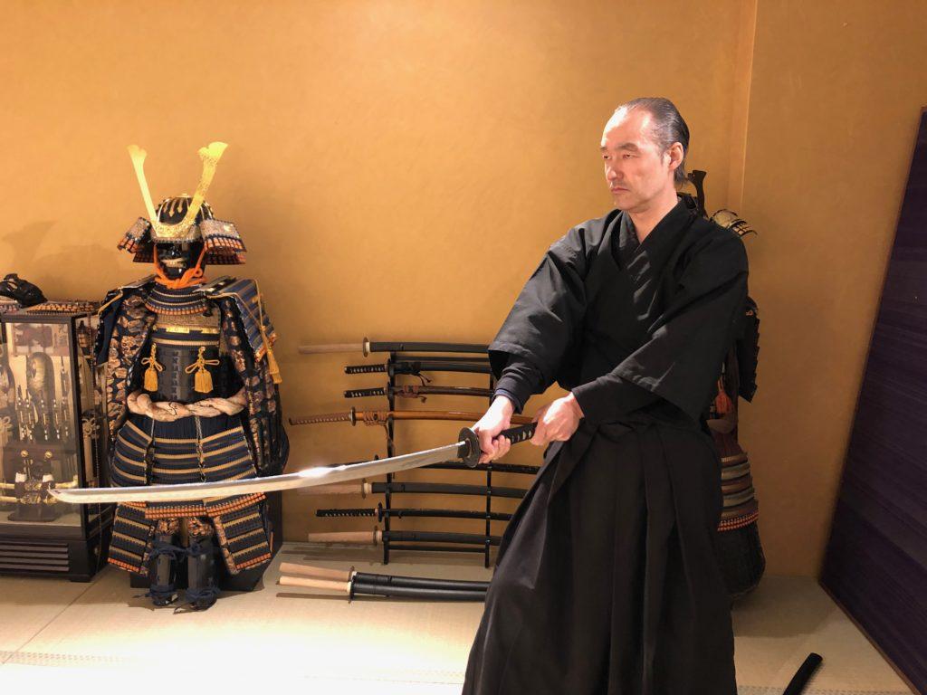 Samurai Sword Experience and Kyoto Samurai Show in Kyoto