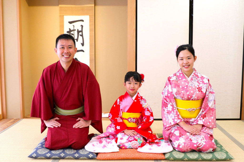 Kimono for Kids and Families Unique Experience in Kyoto