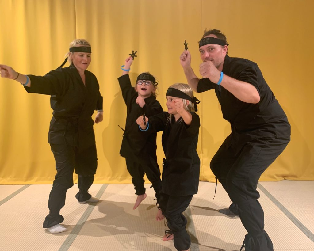 Ninja Experience in Osaka for Kids and Families
