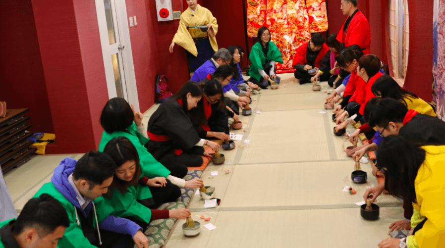Kimono Tea Ceremony for Groups Kyoto