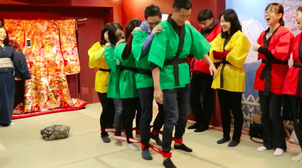 Team Building Activities in Kyoto Japan Package B