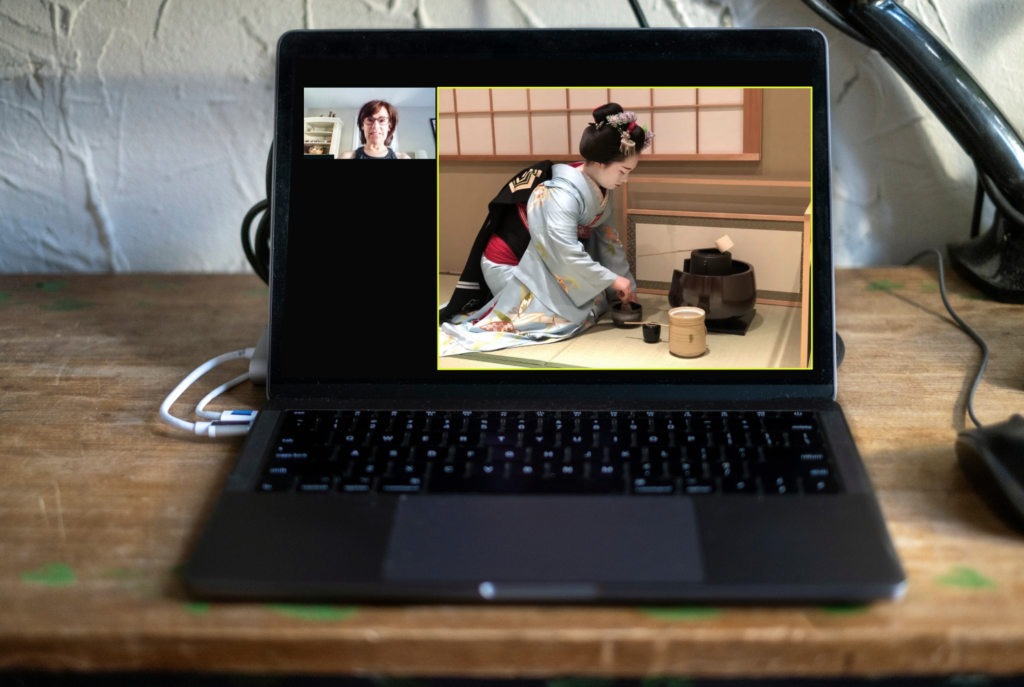 Geisha Online – PRIVATE Meeting with a Geisha from Kyoto
