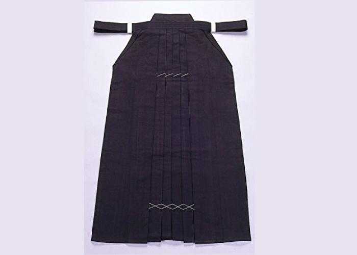 Samurai market Authentic Japan Made Kendo Hakama; 100% Cotton Indigo 10000
