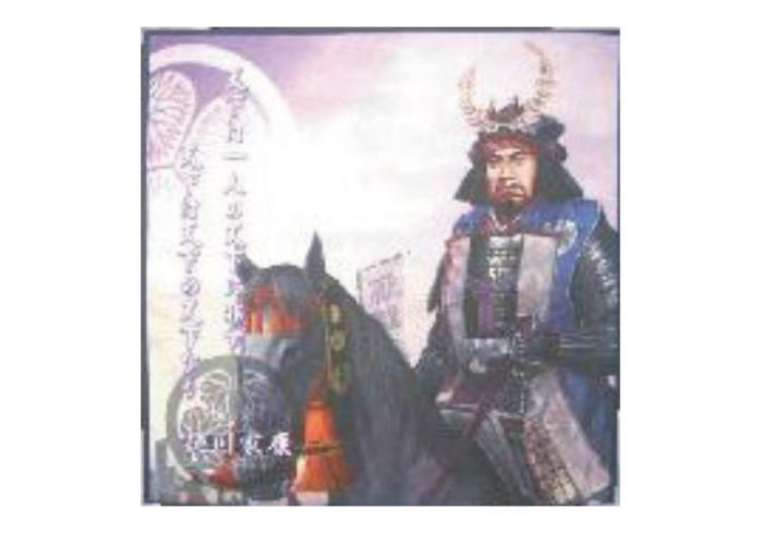 Japanese Samurai Microfiber Mini Towels: Tokugawa Ieyasu