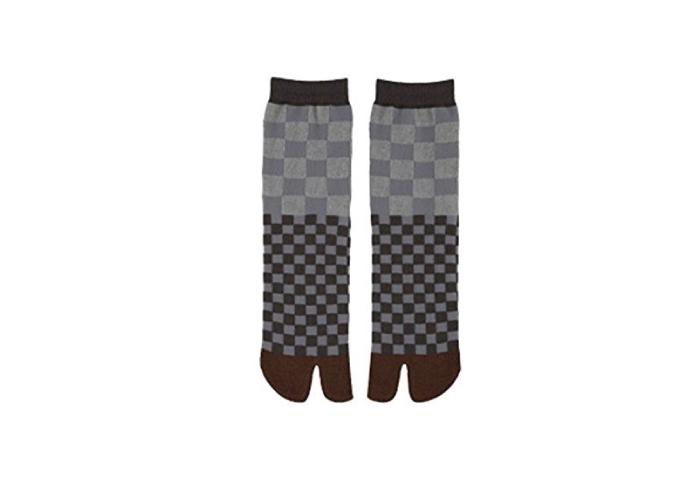 Authentic Japanese Tabi Socks: Checkered