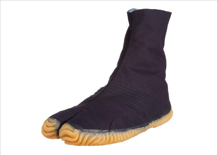Japanese Tabi Shoes Matsuri Jog Navy 6 Clips