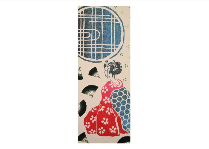 Prairie Dog Japanese Tenegui / Hand Towel; Japan