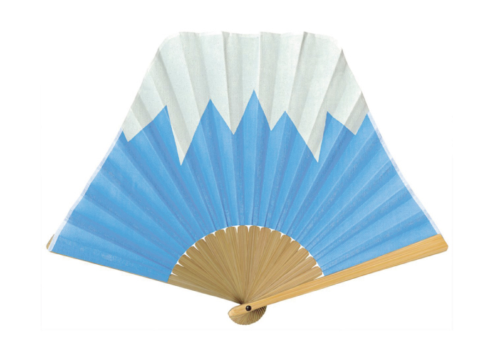 Japanese Crafted Hand Fans; Mount Fuji