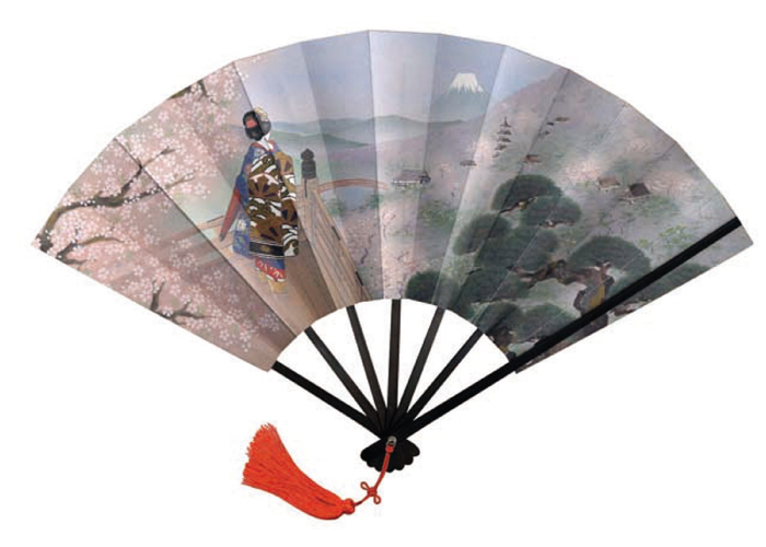 Japanese Crafted Hand Fans; Japanese Art