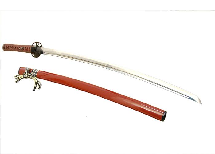 Authentic Japanese Katana Kendo/Kenjutsu Practice Iai Series: Sanada Yukimura (Red Sheath)
