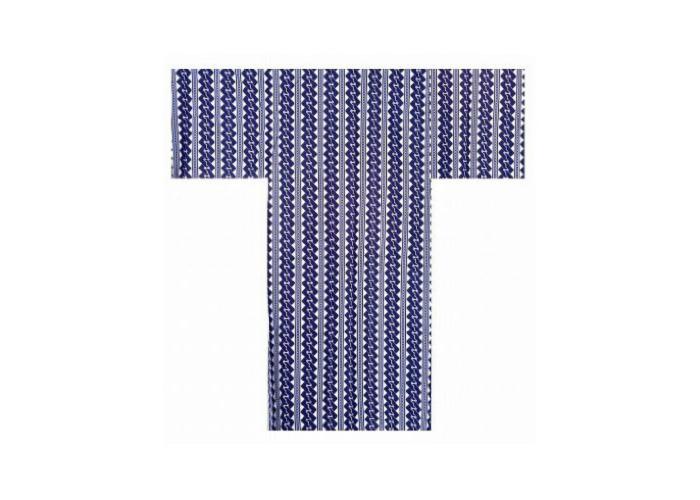 Authentic Japanese Samurai Yukata / Fresh & Cool Kimono- Tsunagi #777