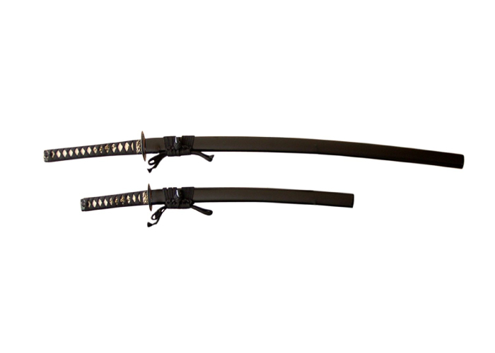 Authentic Japanese Katana: Twin Set- Long and Short